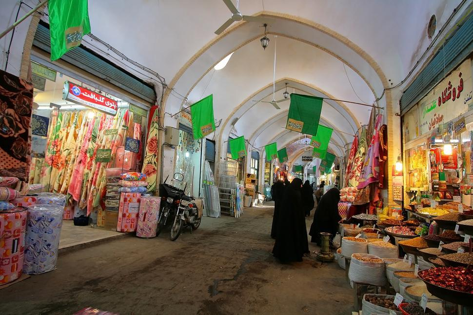 Download Free Stock Photo of Culture and Art in Qom - Market