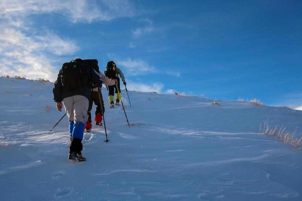 Download Free Stock Photo of Mountaineering sport in Qom