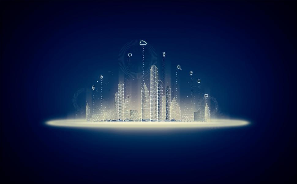 Download Free Stock Photo of Smart City - Internet of Things - 5G