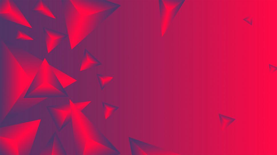 Download Free Stock HD Photo of Abstract Background - Deep Red and Blue Triangles Online