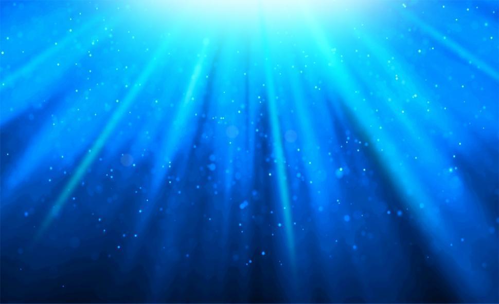 Download Free Stock HD Photo of Bokeh - Underwater Light Effects Online