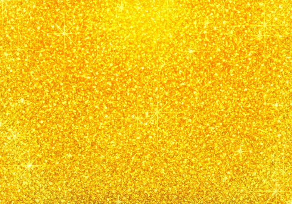 Download Free Stock Photo of Golden - Glitter - Background