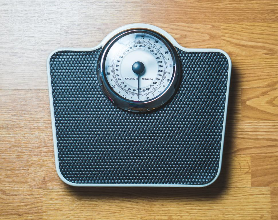 Download Free Stock Photo of Close up of a weighing scale