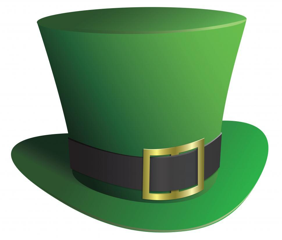 Download Free Stock Photo of Saint patrick s day hat vector