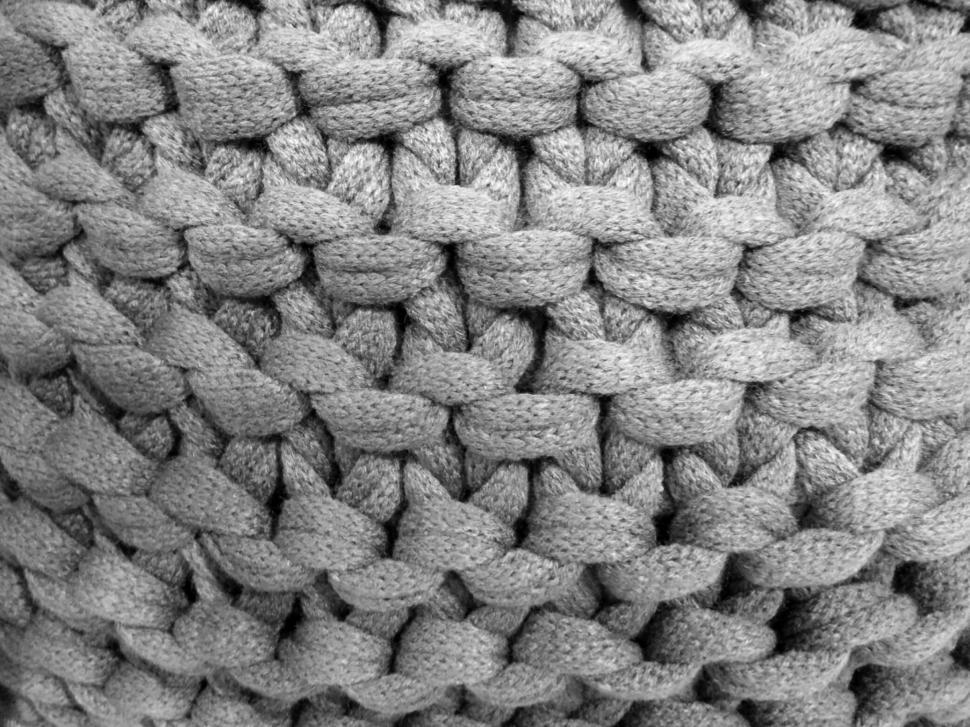 Download Free Stock Photo of Knotted Fabric Texture