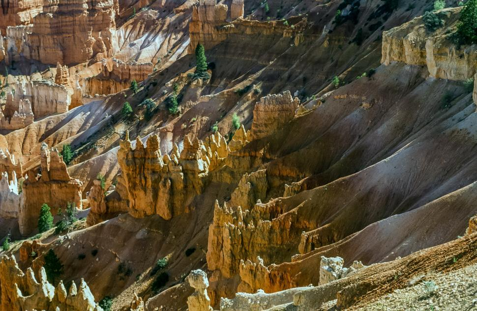 Download Free Stock Photo of Bryce Canyon Features