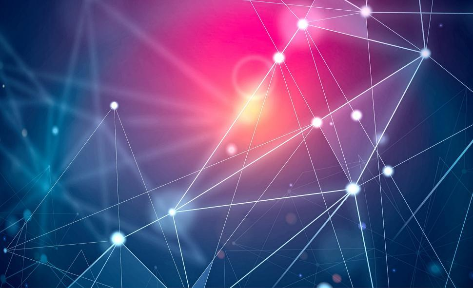 Download Free Stock Photo of Network - Technology Background