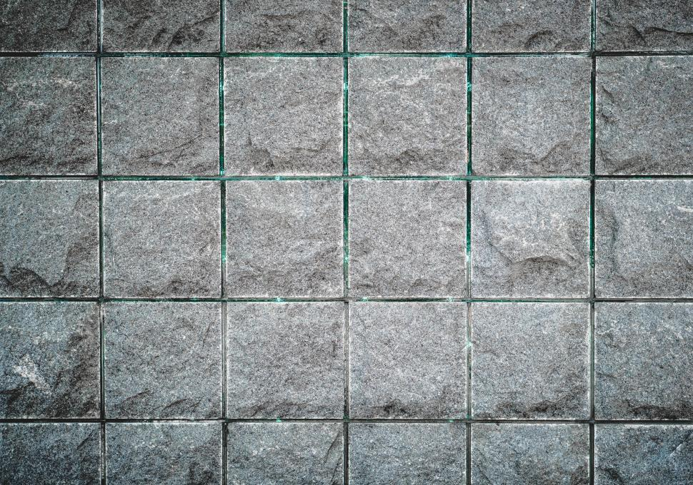 Download Free Stock Photo of Close of wall tiles texture