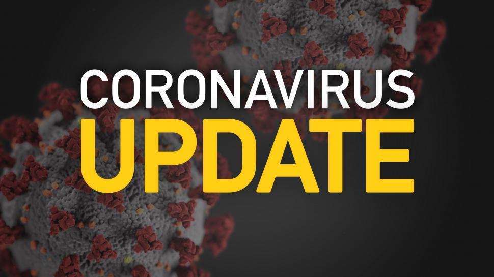 Download Free Stock Photo of Coronavirus Update Alert Graphic