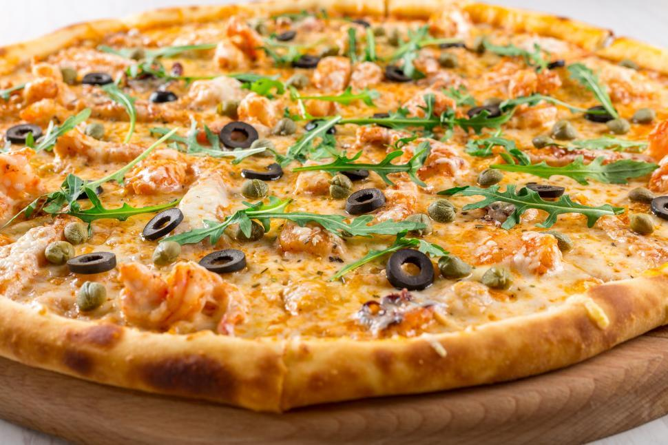 Download Free Stock Photo of Close up of pizza