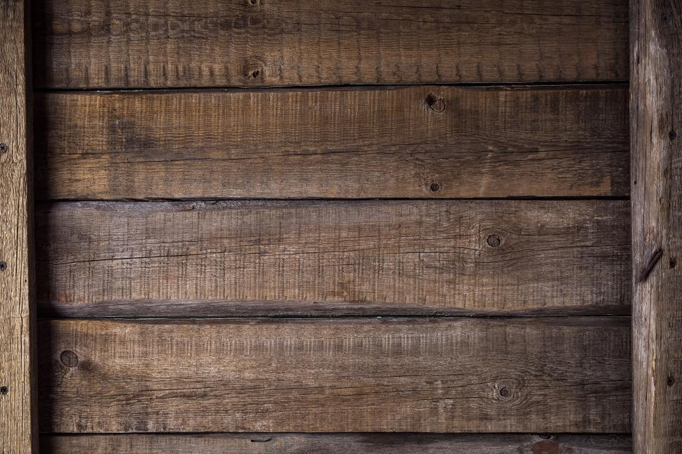 Download Free Stock HD Photo of Close up of wood board texture with cross members Online