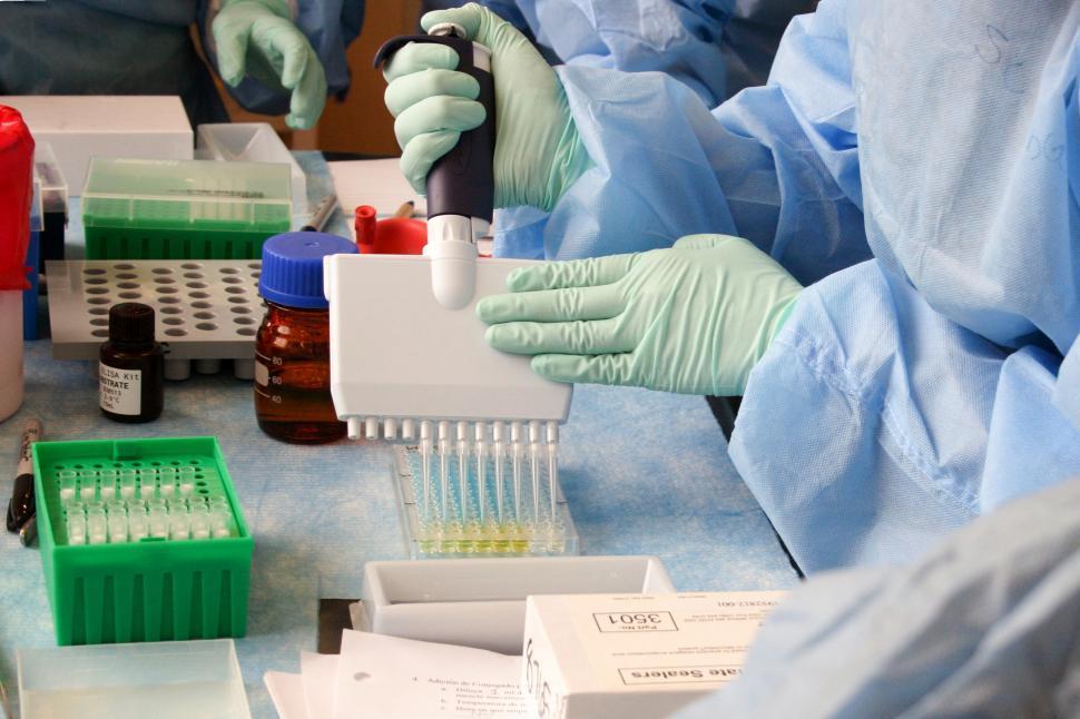 Download Free Stock Photo of Laboratory Testing