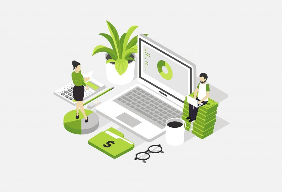 Download Free Stock HD Photo of Accounting - Mock Up - Accountants Online