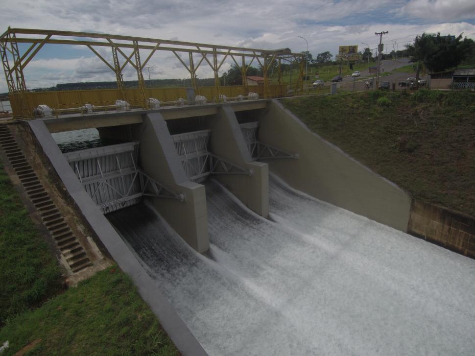 Download Free Stock Photo of Water Dam