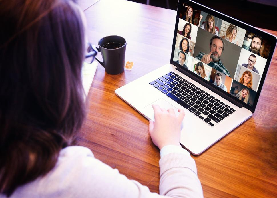 Download Free Stock Photo of Video Conference Call - Online Meeting - Videoconference - Business Meeting