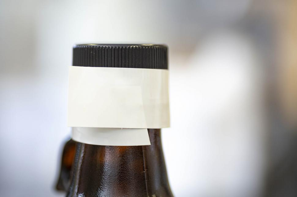 Download Free Stock HD Photo of Tape sealed chemical bottle Online