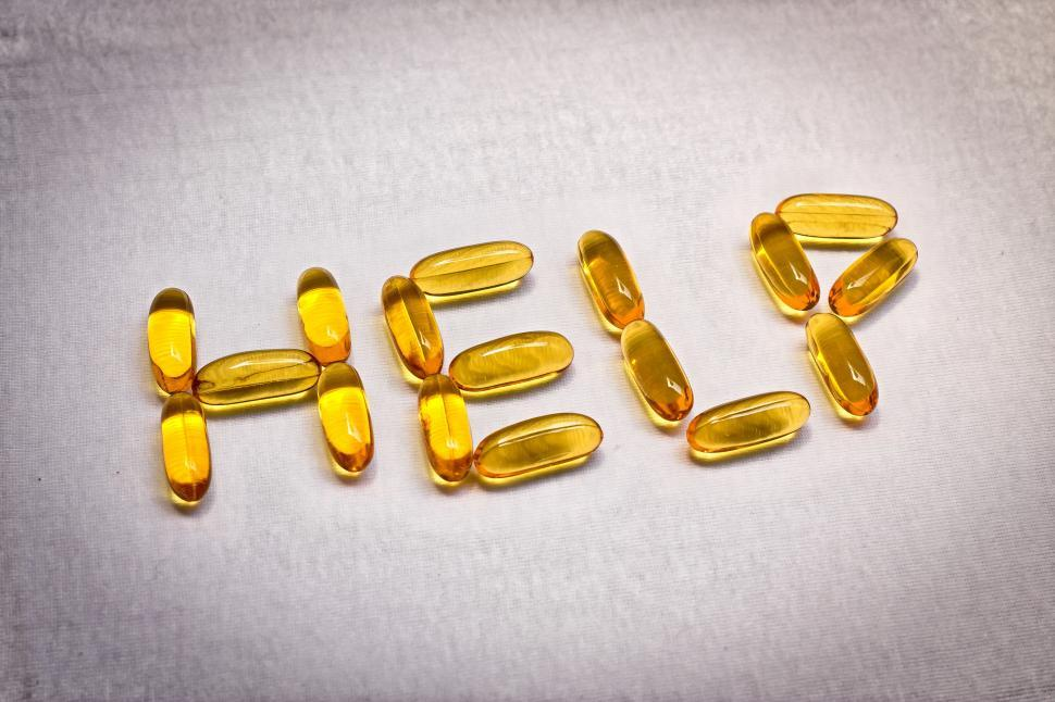 Download Free Stock Photo of cure pill help pill