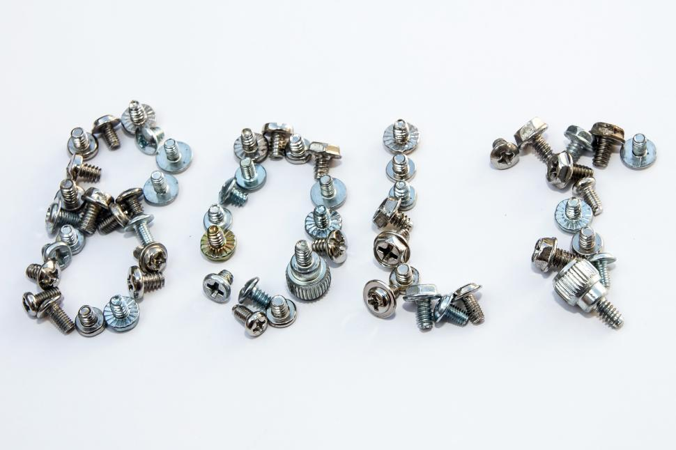 Download Free Stock HD Photo of Writing bolt from bolts and screws Online