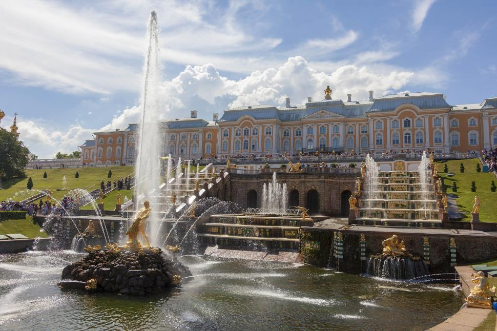 Download Free Stock HD Photo of Peterhof Palace Online