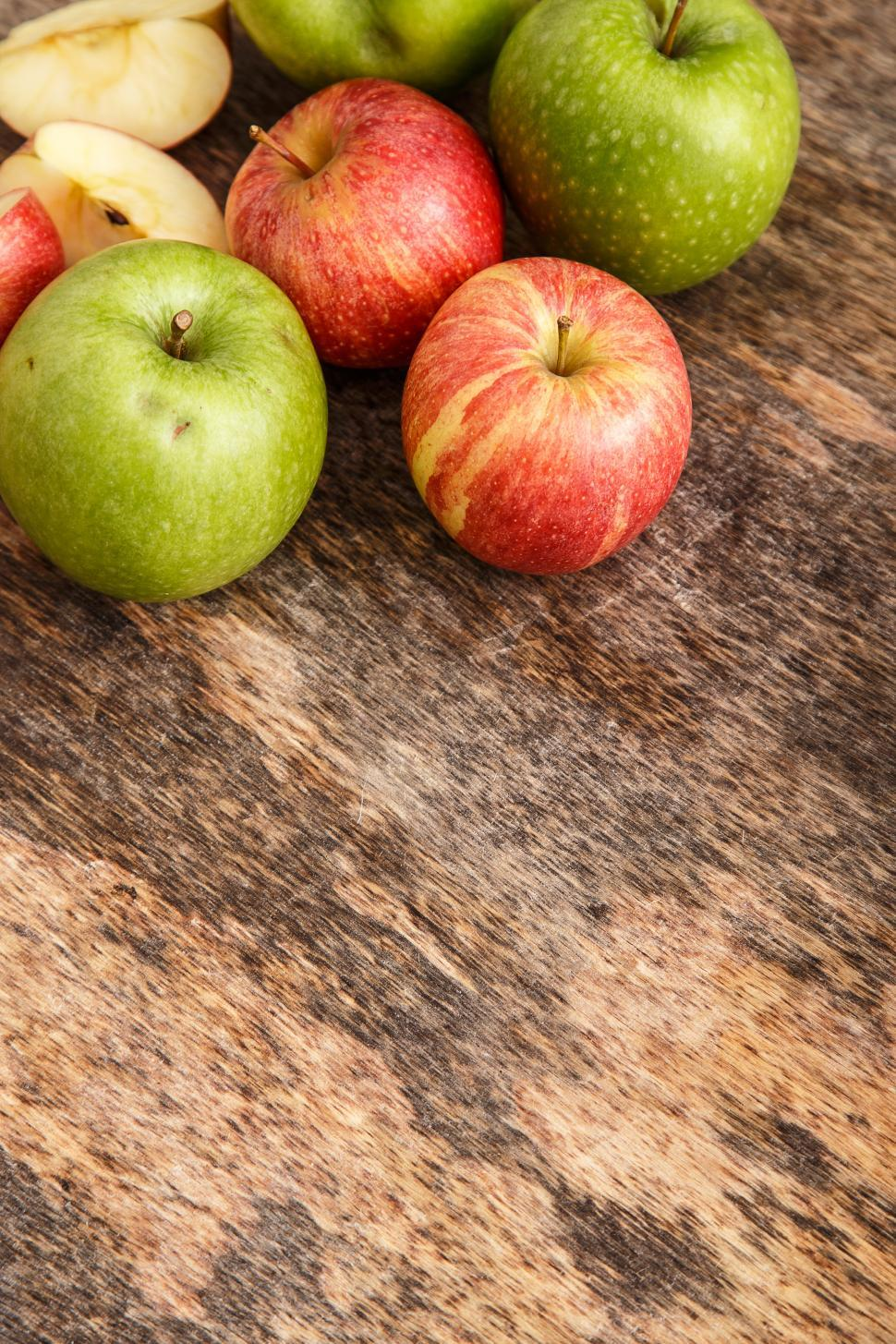 Download Free Stock HD Photo of Apples on the table Online