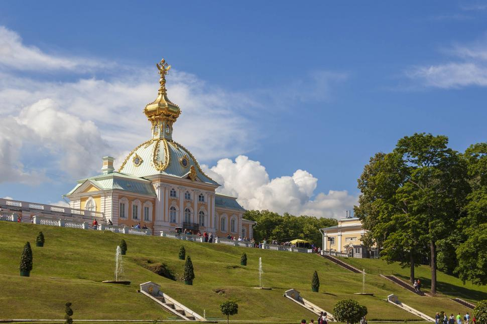 Download Free Stock Photo of Peterhof Palace