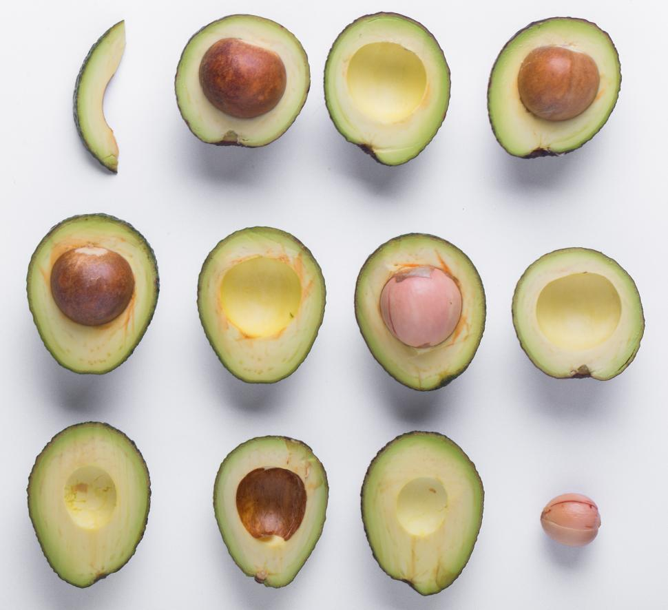 Download Free Stock HD Photo of Avocados on the table Online