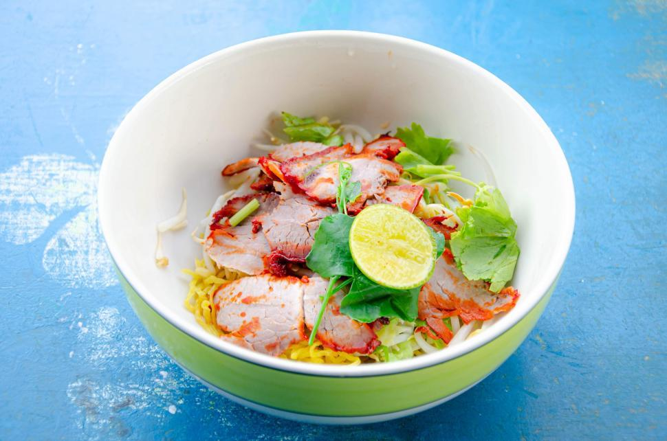 Download Free Stock Photo of Fresh Thai Noodle
