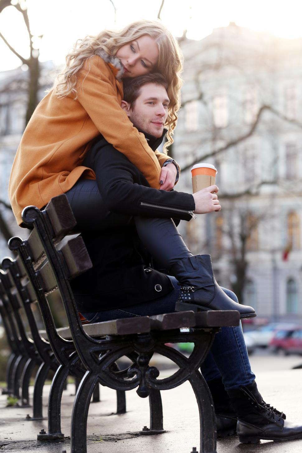 Download Free Stock Photo of Couple spending time together in the park