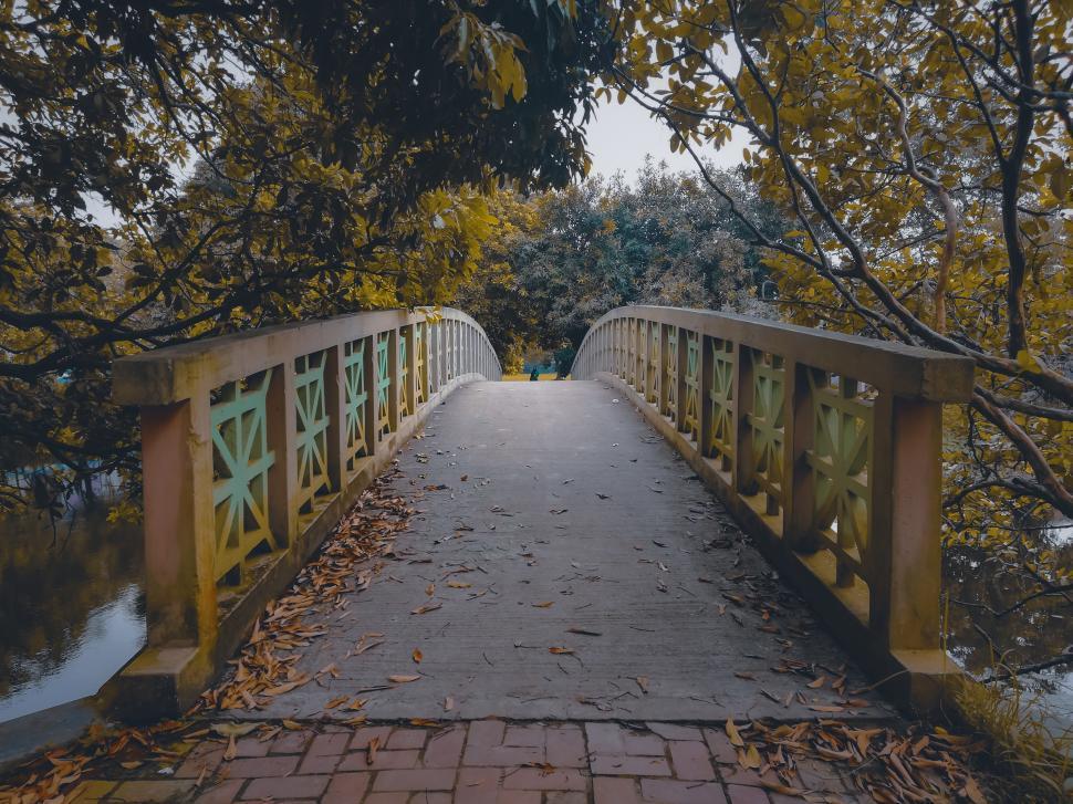 Download Free Stock Photo of Empty Bridge