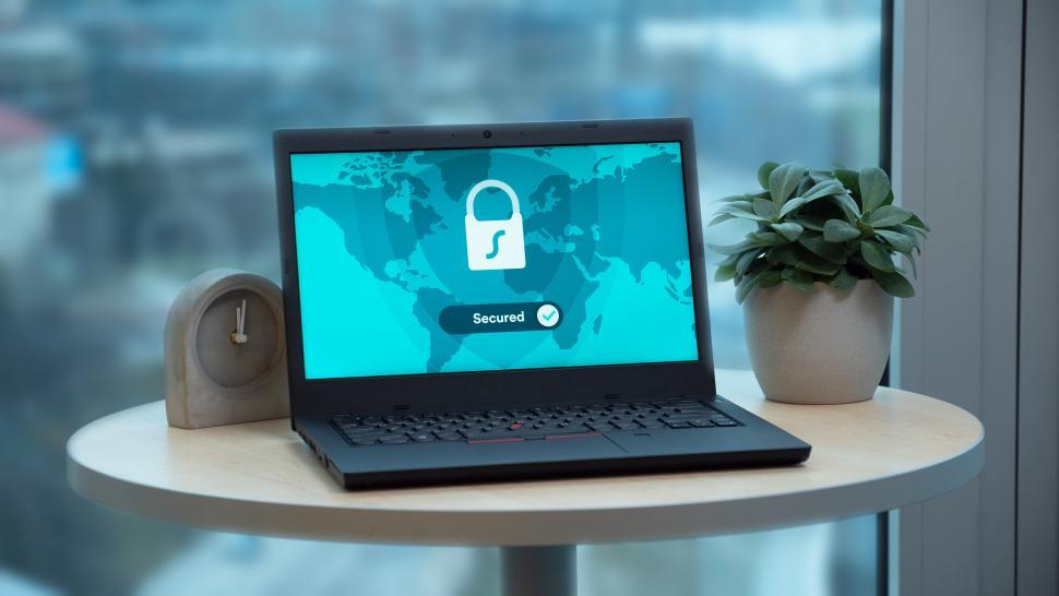 Download Free Stock HD Photo of Secured workspace   Online