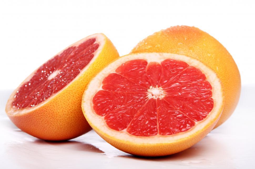 Download Free Stock HD Photo of Fresh grapefruit Online