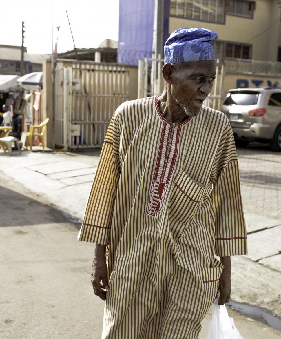 Download Free Stock Photo of Old Man in Nigeria