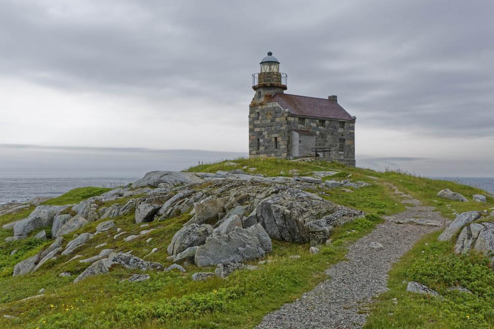 Download Free Stock Photo of Path to the lighthouse
