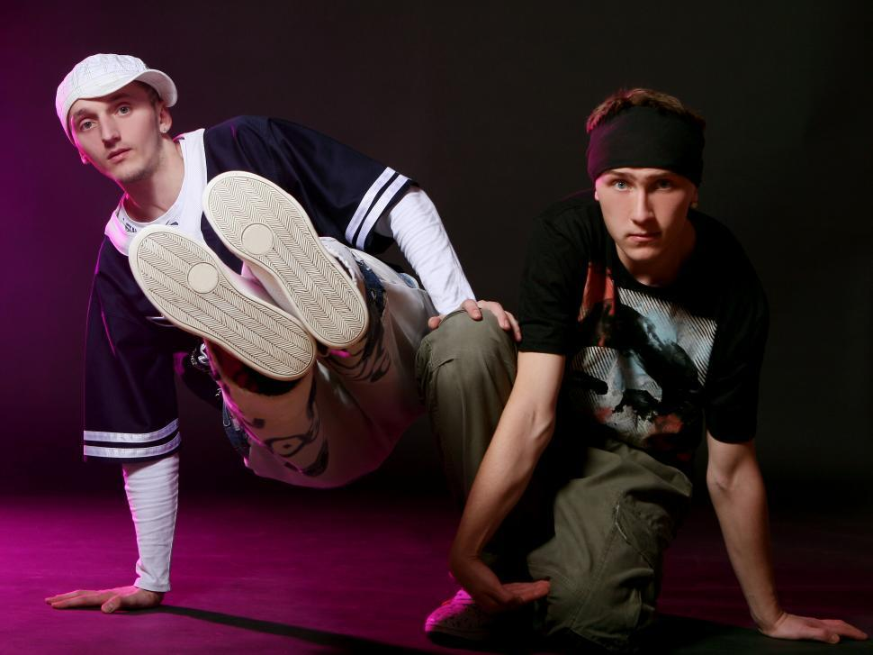 Download Free Stock Photo of hip hop dancers performing