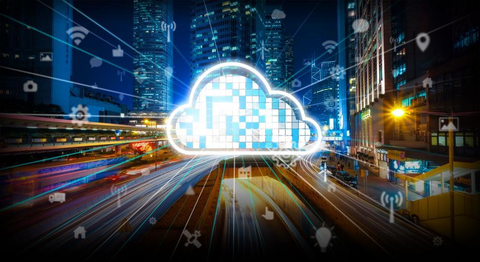 Download Free Stock Photo of Edge Networks - Cloud Computing - CDN