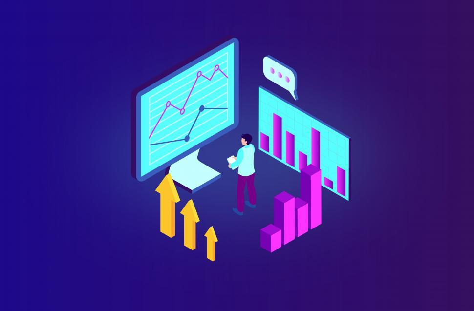Download Free Stock Photo of Data Analytics - Database - Data - Digital