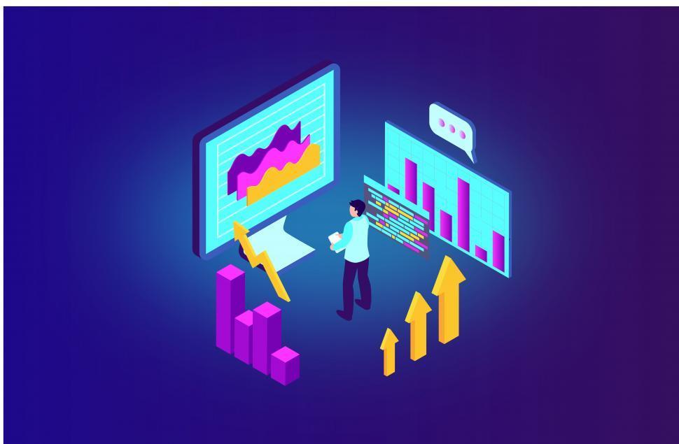 Download Free Stock Photo of Data Analytics - Database - Data - Digitization - Digital