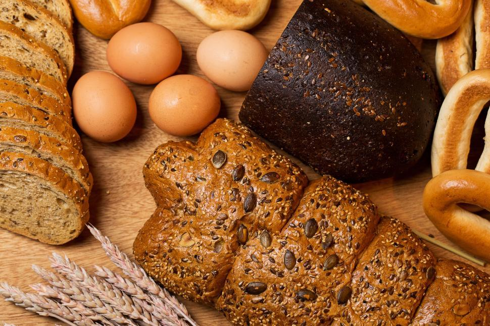 Download Free Stock Photo of Cooking. Delicious bread made from good wheat