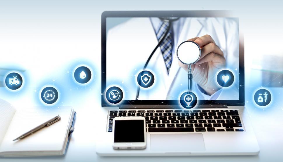 Download Free Stock Photo of Telemedicine Concept - e-Health