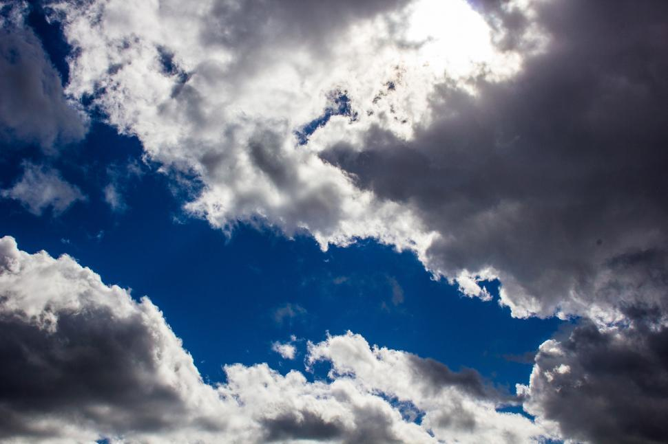 Download Free Stock Photo of Cloudy sky
