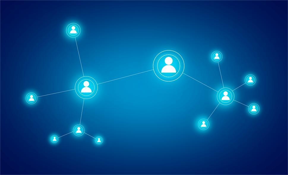 Download Free Stock Photo of Connectivity Concept - Connections - Customer Relationship Manag