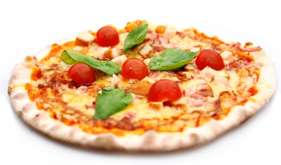Download Free Stock Photo of Hot and tasty pizza