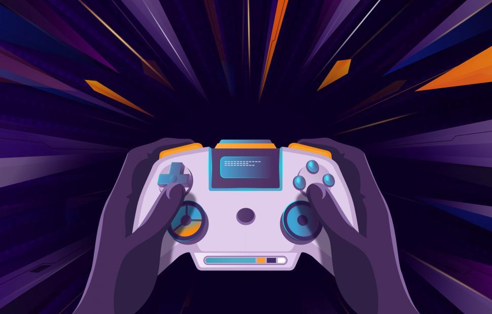 Download Free Stock Photo of Gamer Concept - eSports - Videogame