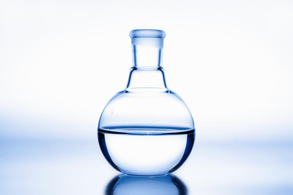 Download Free Stock Photo of Flat Bottom Flask