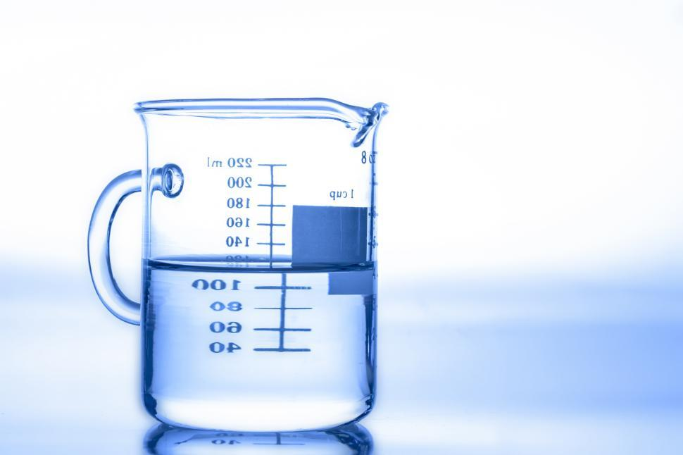 Download Free Stock Photo of A beaker