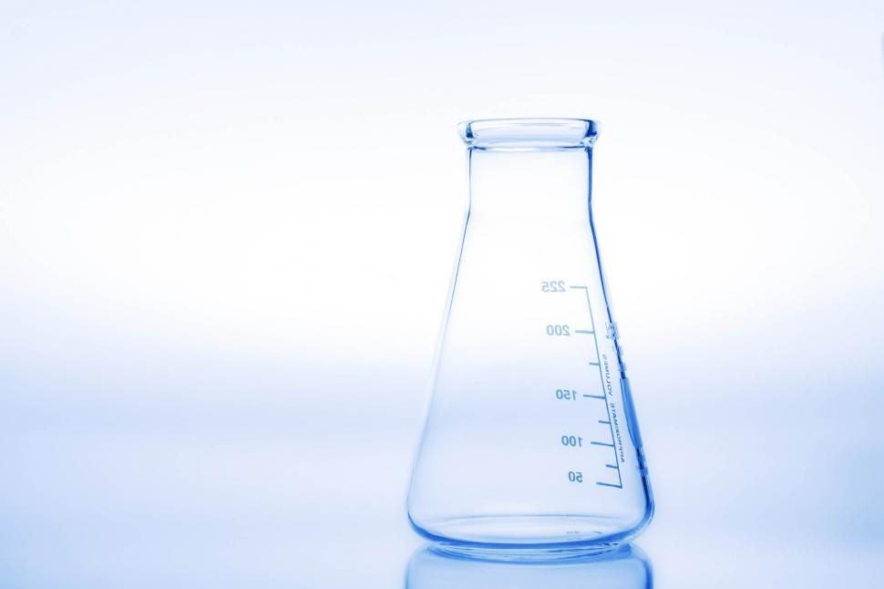 Download Free Stock Photo of Erlenmeyer flask