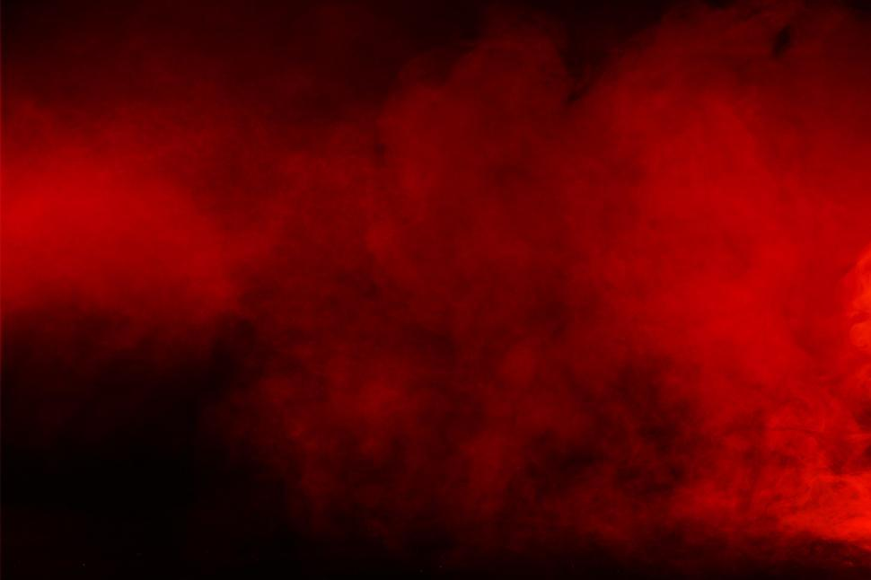 Download Free Stock Photo of Red Smoke - Red Background