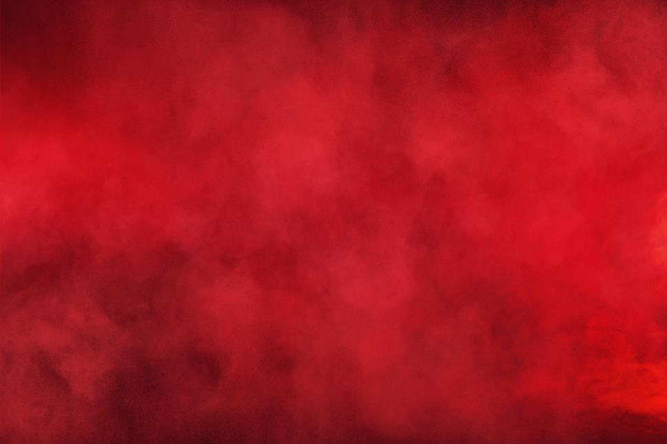 Download Free Stock Photo of Red Smoke - Red Dust Particles - Red Background