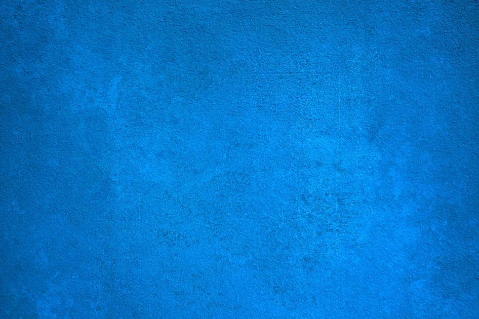 Download Free Stock Photo of Blue Texture - Vivid Blue Wall - Rough Blue Texture