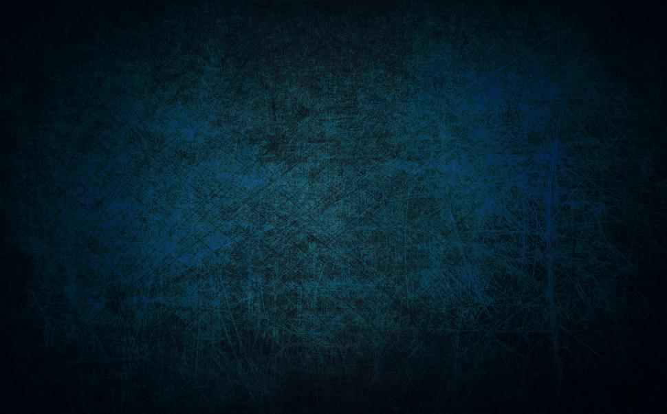 Download Free Stock Photo of Scratched Blue Metal - Texture Background